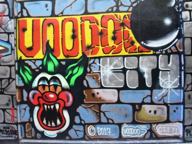 Praha 8 pokračuje v boji proti nelegálnímu graffiti, ilustrační foto: Stanislava Nopová, Melbourne 2018